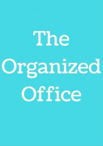 The Organized Office